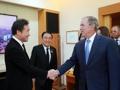 El PM surcoreano y el expresidente estadounidense