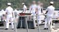 海外派遣部隊の入港式で事故 5人死傷