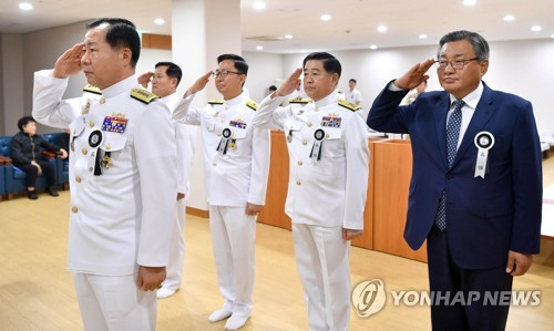 """해군 """"청해부대 환영행사장 '끊어진 홋줄' 다각도로 원인 규명"""""""