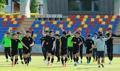 Entrenando para la victoria Sub-20 contra Japón