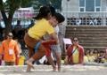 江陵端午祭で相撲大会
