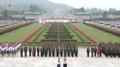 El órgano de niños norcoreano marca el 73er. aniversario