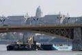 Barco hundido en Hungría
