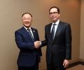 Jefes económicos de Seúl y Washington