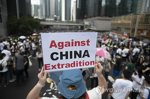 한국 언론이 홍콩 시위에 침묵?