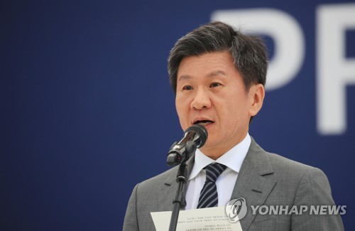 (Yonhap Interview) S. Korean football chief says joint Women's World Cup with N. Korea would 'pave way' for peace
