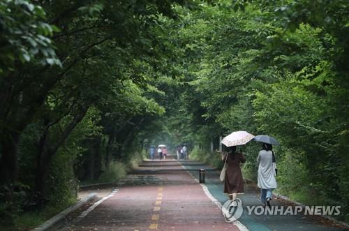 내일 오후 서울 등 전국 곳곳 비…일부 지역 번개·우박