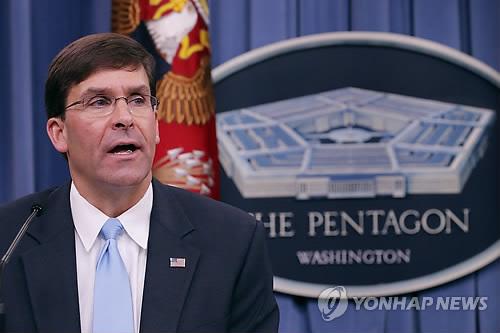 신임 美국방대행, 내주 NATO 국방장관 회담 참석
