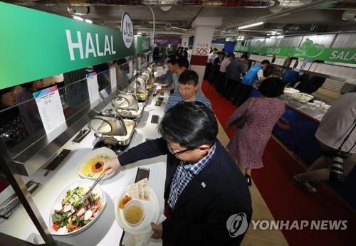 '광주 5味'에서 '할랄'까지…광주수영선수권대회 급식 맛보기
