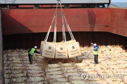 """광주·전남 농민단체 """"정부 대북 쌀 지원 결정 환영"""""""