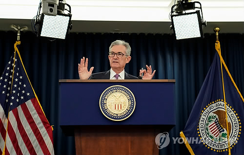 """한투증권 """"미중 협상 결렬 시 美 7월 금리 0.5%p 인하"""""""