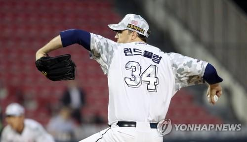 린드블럼 11승·오재일 5타점…두산, NC전 싹쓸이하고 '4연승'