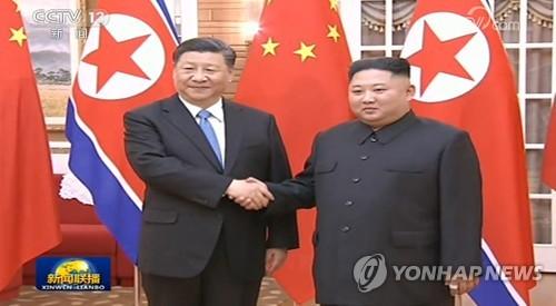 """北김정은 """"인내심 유지할 것…한반도 문제 해결 성과 원해""""(종합)"""