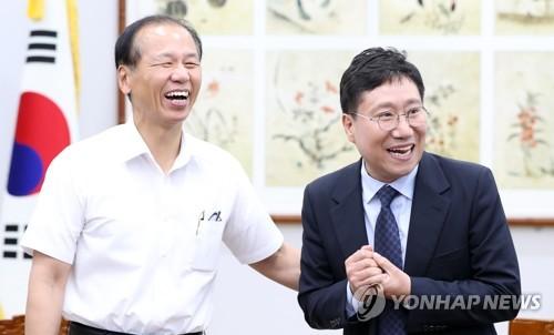 """양정철 """"강원도는 평화 마중물…유익한 정책·비전 내놓겠다"""""""