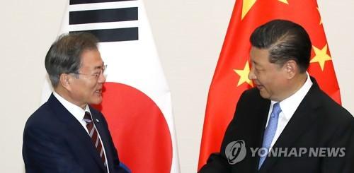 """한중, 시진핑 조기방한 교감…""""中, 내년 상반기 국빈방문 검토"""""""