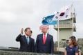Moon y Trump visitan la DMZ