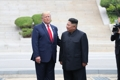 El líder norcoreano y Trump se reúnen en Panmunjom