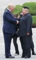 Trump meets with N.K. leader at Panmunjom