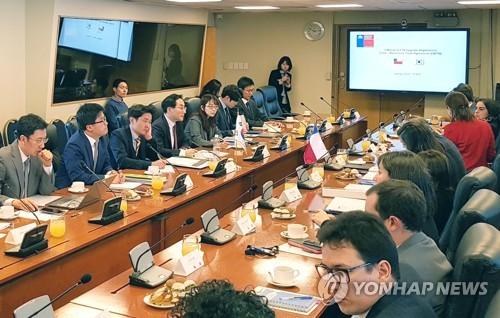 '발효 15년' 한·칠레 FTA…서울서 3차 개선협상