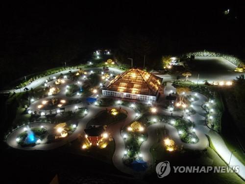 양구 'DMZ 야생화분재원' 휴가철 금·토 야간 개장