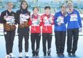 Médaillées de la plate-forme synchronisée