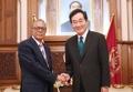 El PM con el presidente bangladesí
