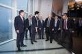 Président israélien à la Lotte World Tower