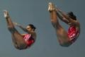 Dúo mexicano de salto de trampolín