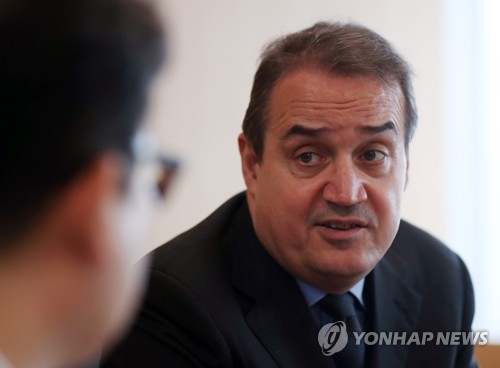 (Yonhap Interview) N. Korea eligible to receive climate fund support: GCF chief