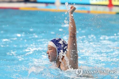 -광주세계수영- 여자수구, 캐나다 상대로 '깜짝 2골'(종합)