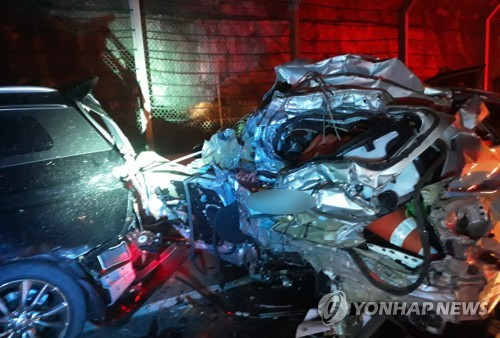 시흥경찰, 고속도로 순찰대원 사망사고 유족에 공식 사과
