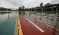 Paseo inundado