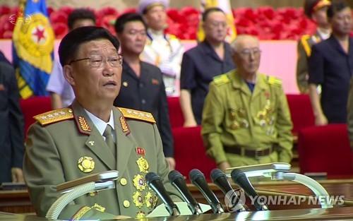 김수길 등 北대표단, 중국 방문…군사분야 연대강화<교도>