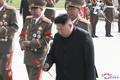 El líder norcoreano rinde tributo a los mártires de guerra