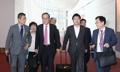 La delegación parlamentaria en Japón