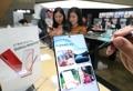 Experimentación del nuevo tabléfono de Samsung