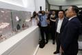 El ministro de Finanzas visita LG Display