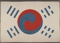 La bandera nacional surcoreana más antigua