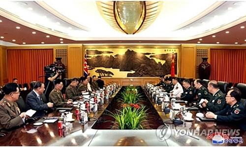북중 軍수뇌부 베이징 회동…'북중 우의·군사 협력' 과시(종합2보)