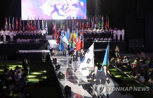 광주마스터즈수영대회 폐막…1천명 마지..