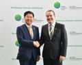 Avec le secrétaire général du FVC