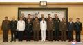 북중 군부, 중국 중앙군사위 청사서 기념사진