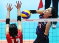 아시아 여자배구선수권대회 한국과 일본 준결승