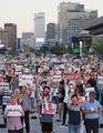 Rassemblement anti-Abe à Séoul