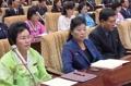 North Korean parliament session