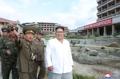NK leader visits resort construction site