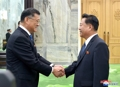 Choe Ryong-hae meets with Korean body's delegation from Japan