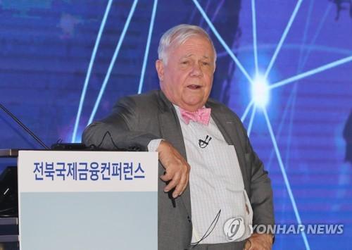 """세계적 투자가 짐 로저스 """"통일 한국, 세계적인 투자처 될 것"""""""