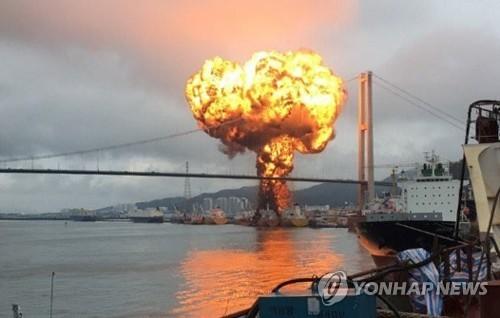 울산 작년 화재 인명·재산피해 증가…선박·공장 큰불 잦아
