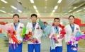 N. Korean weightlifters